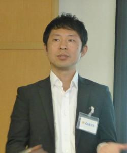 写真④ UCカード・事業開発部長の中野征治氏