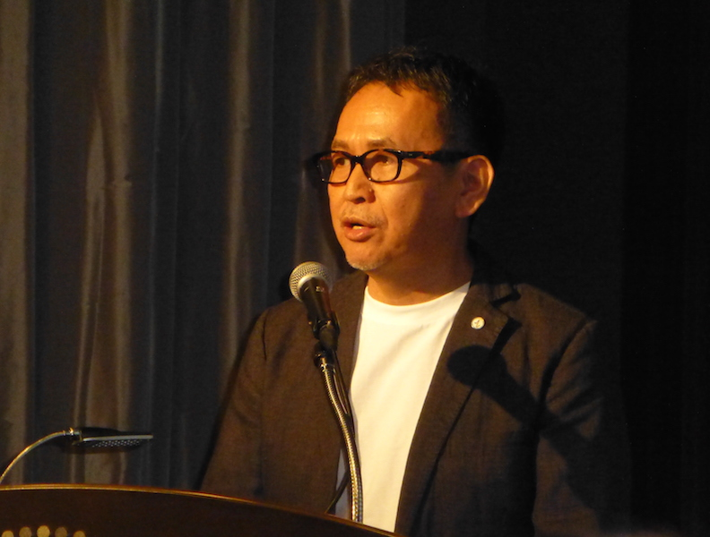 写真③ 一般社団法人スーパーセンシングフォーラム代表理事の中川 聰氏
