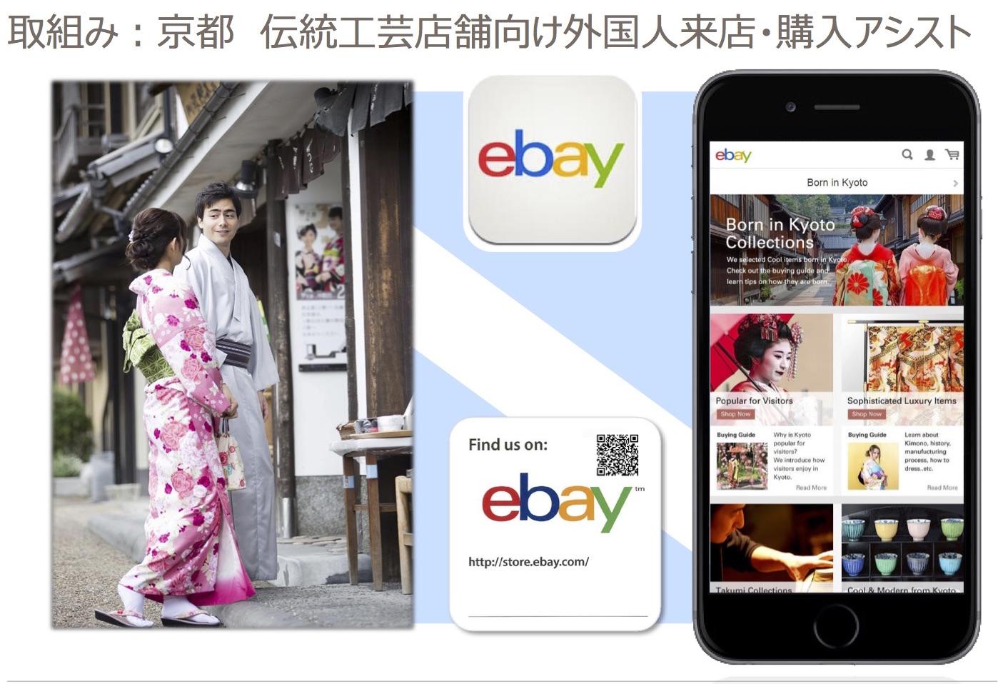 写真⑥ 訪日観光客の帰国後もeBayへ誘導