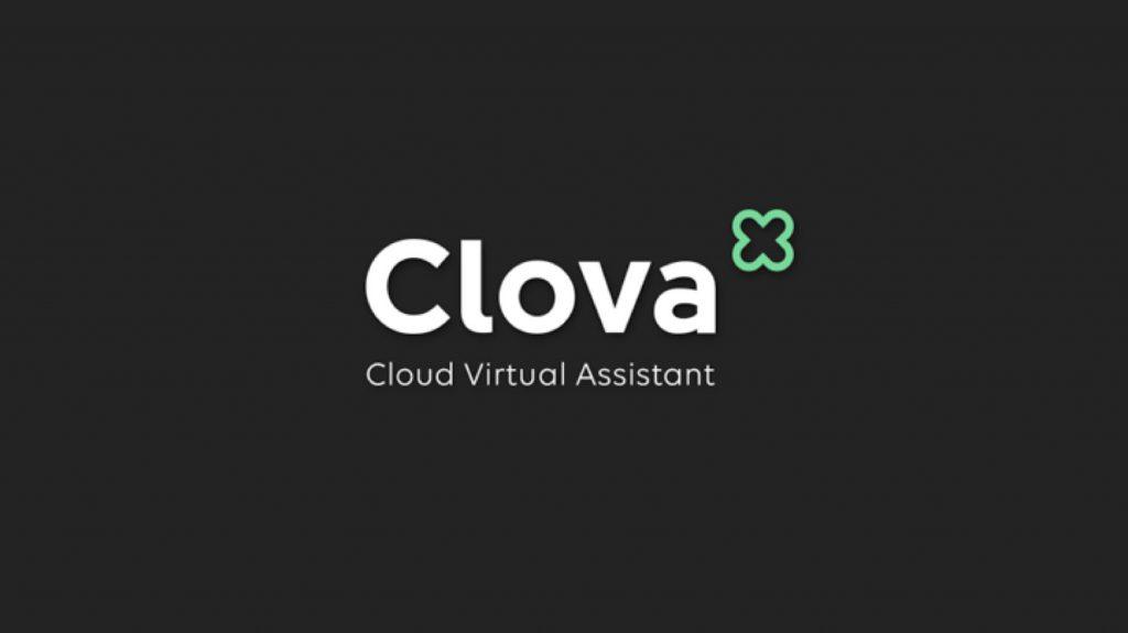 写真② 出澤氏は「(Clovaの元になった言葉である)クローヴァーには『幸運』という意味もある。Clovaを提供することでユーザーに『幸運』をもたらしたい」とも。