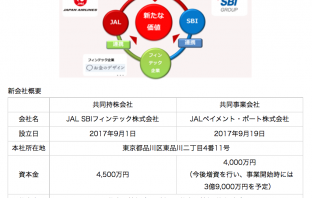 (出典:日本航空とSBIホールディングスの報道発表資料より)