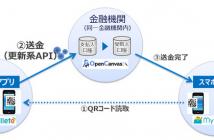 送金イメージ(出典:NTTデータの報道発表資料より)