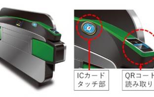 自動改札機のイメージ(出典:東日本旅客鉄道の報道発表資料より)