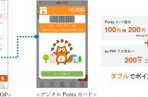 au PAY アプリ利用画面イメージ(出典:KDDIの報道発表資料より)